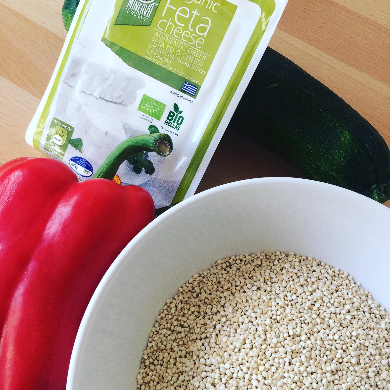poivron farci quinoa