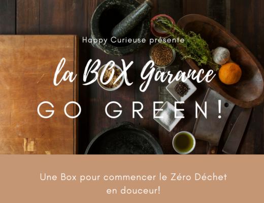 box garance zéro déchet