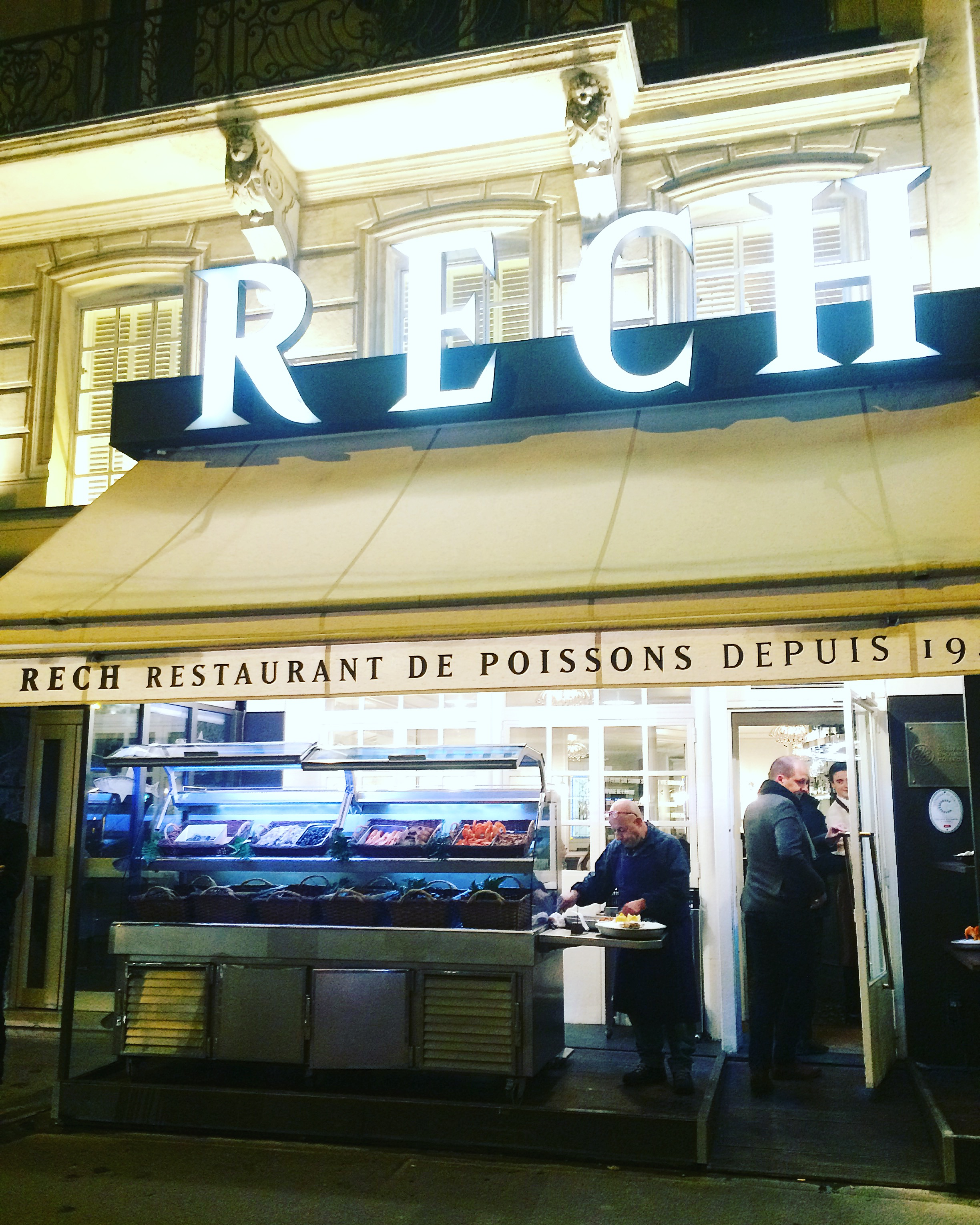 restaurant rech paris