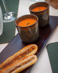 Mises en bouche Les Potes au Feu restaurant Namur